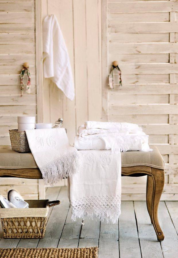 ordenar las sabanas y toallas en el armario