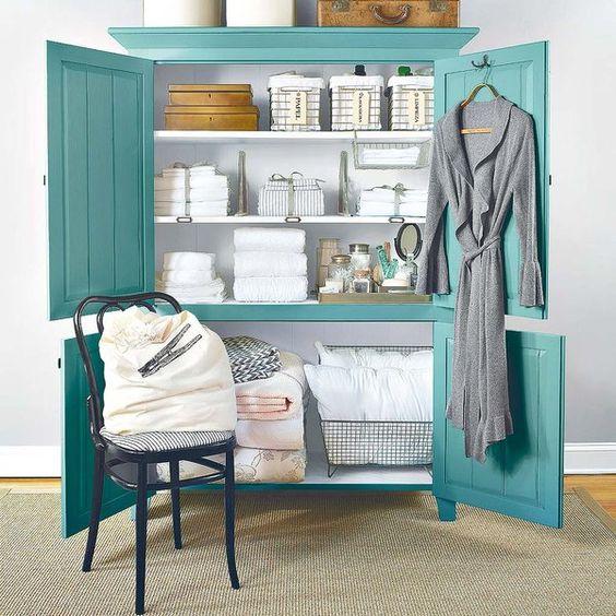 C mo organizar el armario de las s banas y toallas - Sabanas y toallas ...