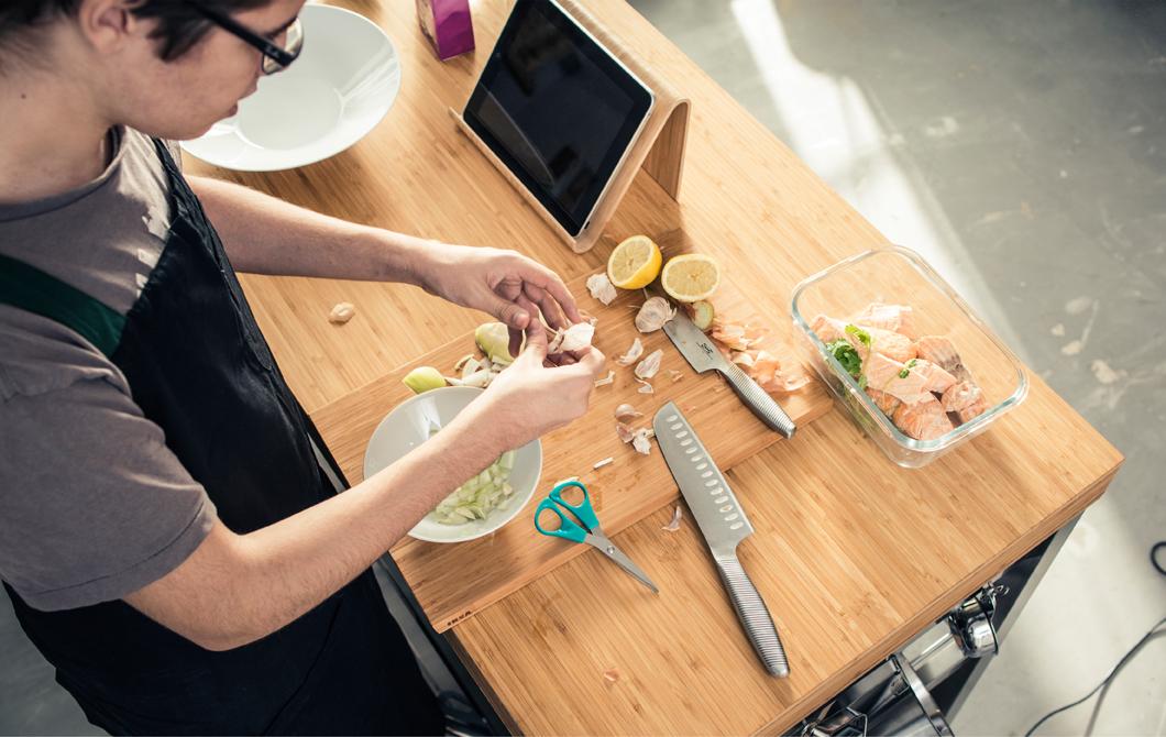 como amueblar cocina para estudiantes