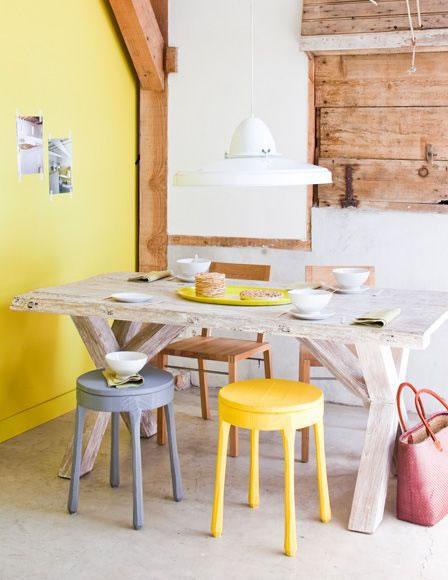 los colores amarillos atraen la alegría, optimismo y la felicidad