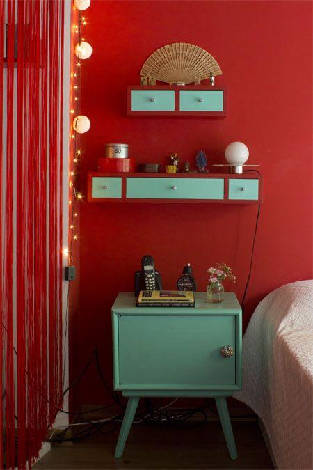 el rojo es un color que estimula el flujo de energía universal, según el Feng Shui