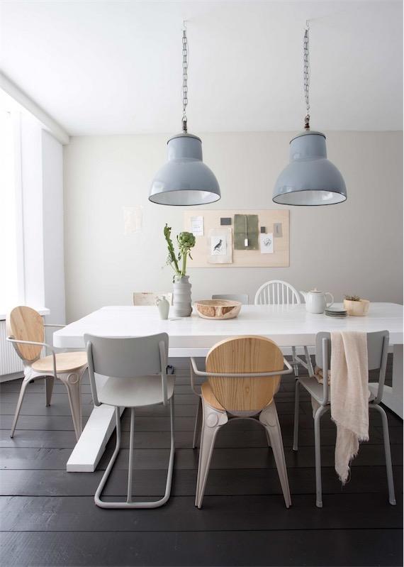 pinta las paredes de tu casa con tonos claros para crear un ambiente acojedor