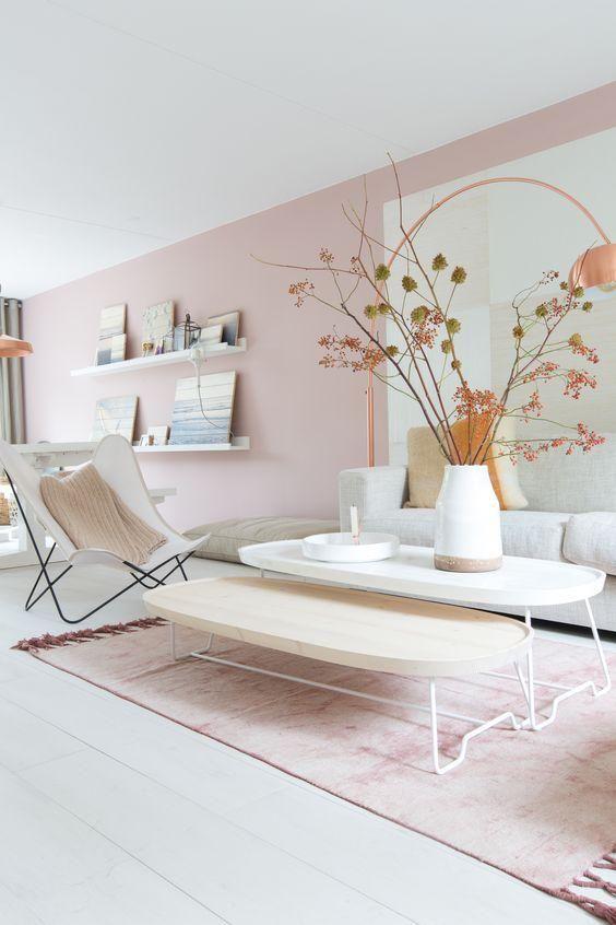 si tienes muebles claros la paleta de colores es mas amplia