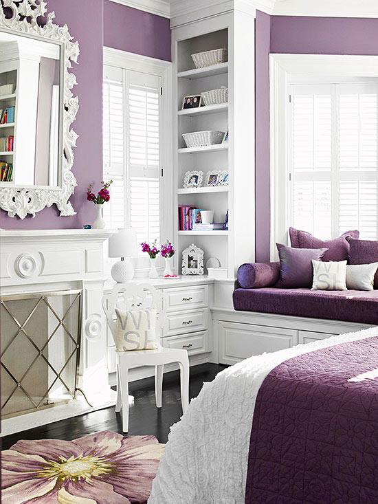 El violeta se asocia a la templanza, espiritualidad, lucidez y creatividad,