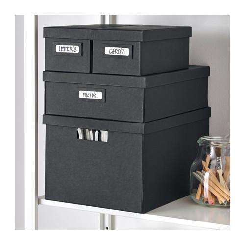 Organiza los armarios con cajas