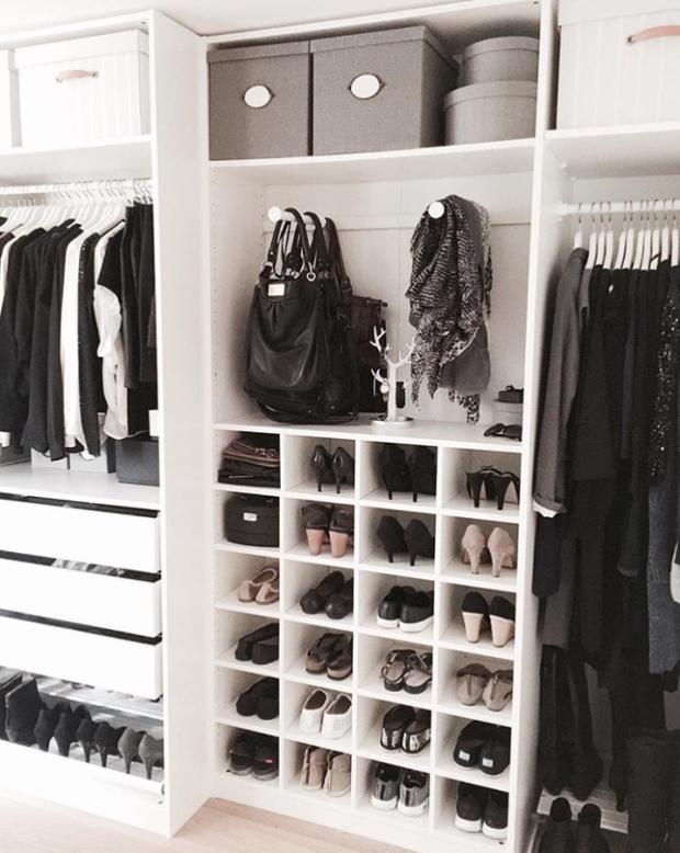 Cómo ordenar los zapatos