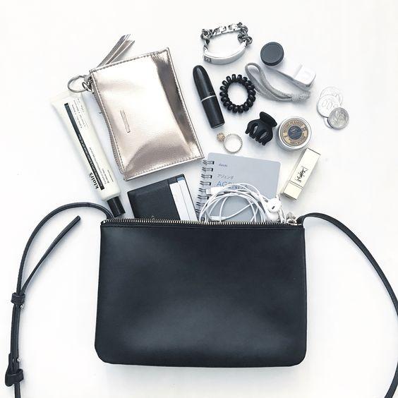 Consejos para mantener ordenado el bolso, y saber lo que llevas