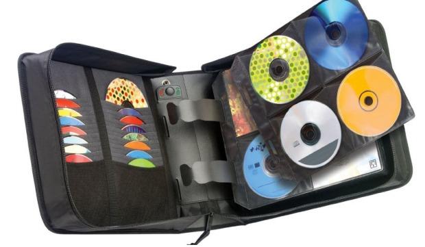 organizar cds y dvds
