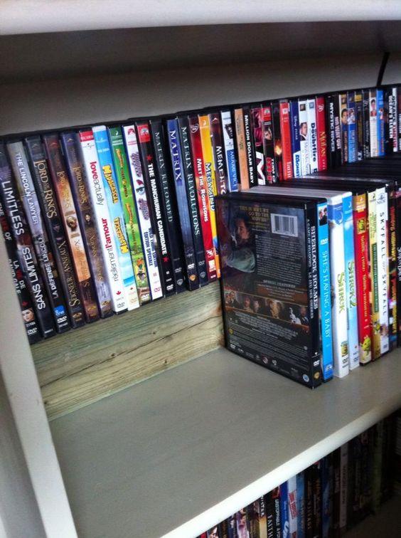 organizar cd y dvd