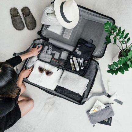 Organiza la maleta con el método de Marie Kondo,
