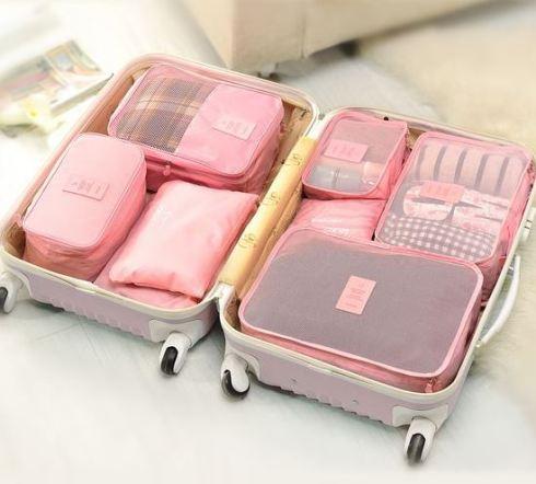 Packing cubes, úsalos para organiza la maleta