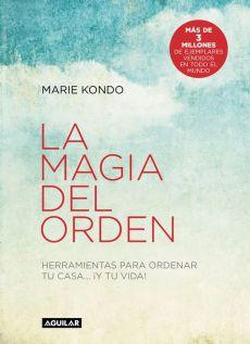libro de Marie Kondo, sobre como ordenar y organizar tu casa