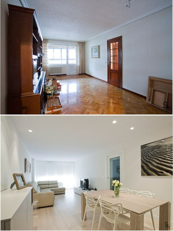 Home staging antes y después